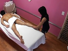 Have A Fun watching sex during massage in all bawdy details